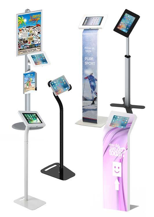 Evertop Tablet Kiosks Tabletop Floor Standing Wall